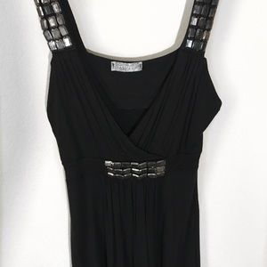 Tops - Black Top with Sequin Accents
